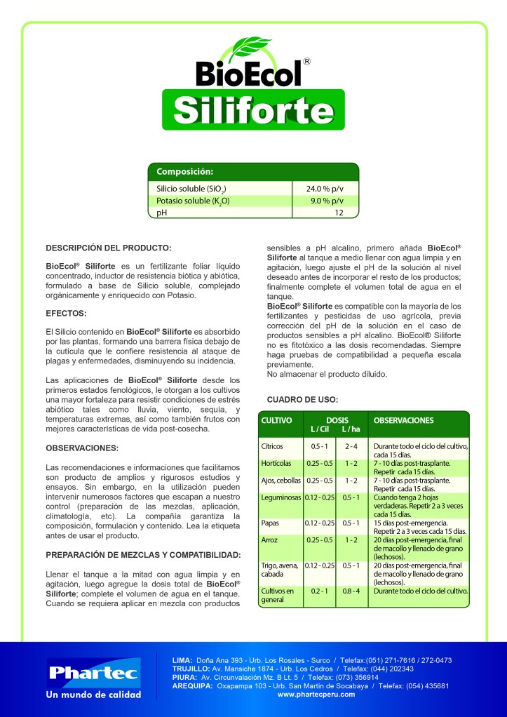 BE siliforte